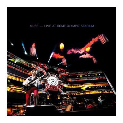 "L'album dei #Muse intitolato ""Live at Rome Olympic Stadium"" su CD e DVD."