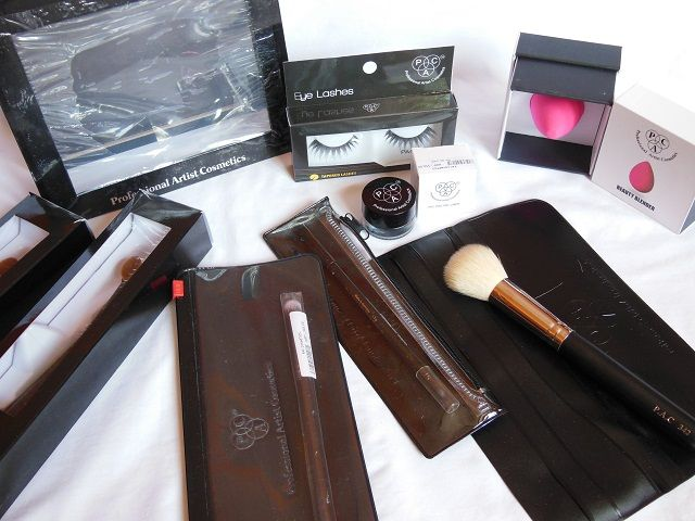 Pac Cosmetics Makeup Products