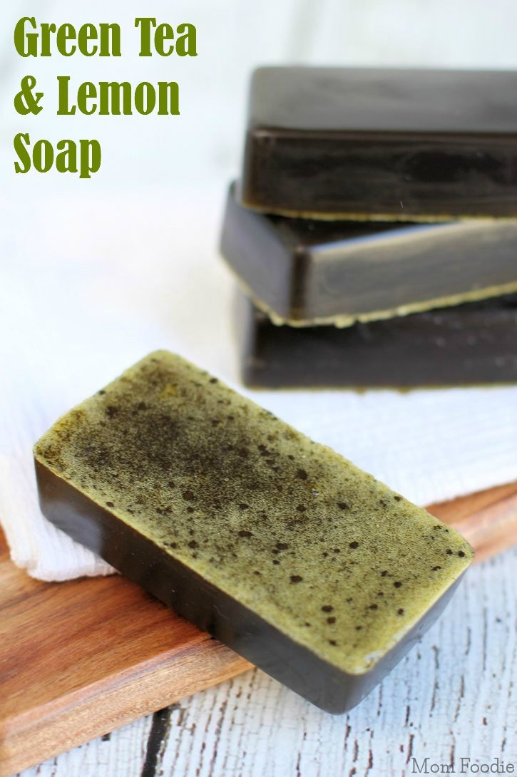 DIY Green Tea & Lemon Soap Recipe