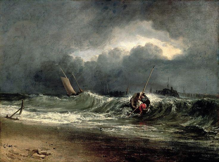 pescatori in grande difficoltà durante la tempesta turner - Cerca con Google