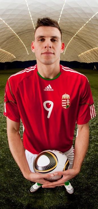 Adam Szalai, Hungarian Football National Team 2011 - Image Photo, agency: CAFÉ, photographer: Peter Busák by RelativeGROUP