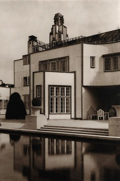 Palais Stoclet in Brussels by Josef Hoffmann, executed by the Wiener Werkstaette, 1905-11