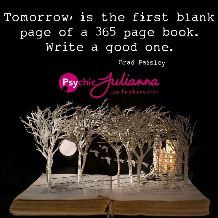 What will you write on your first page? Xx