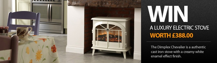 Win a stunning Electric Stove    http://gratefireplace.co.uk/competitions.html