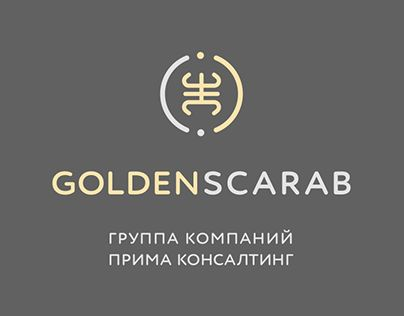 Golden Scarab logo