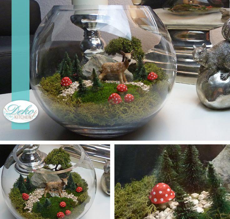 DIY: Miniaturlandschaft für den Tisch als Deko selber machen