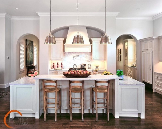 1000 images about breakfast bar area on pinterest for Galley kitchen designs with breakfast bar