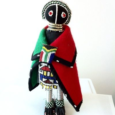 We love this South African Ndebele doll!