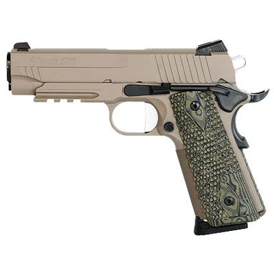 sig sauer 1911 | Sig 1911 .45 ACP Scorpion Carry Pistol 1911CAR-45-SCPN
