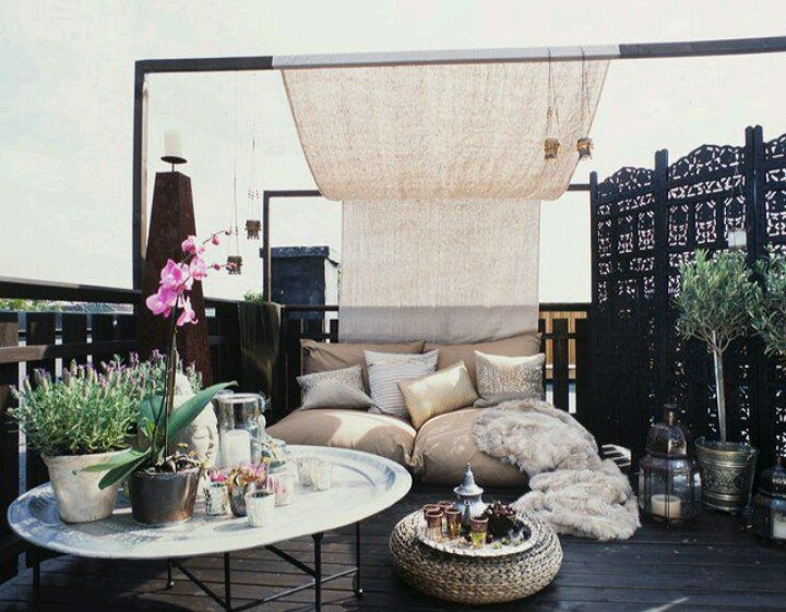 ultra relaxing roof terrace