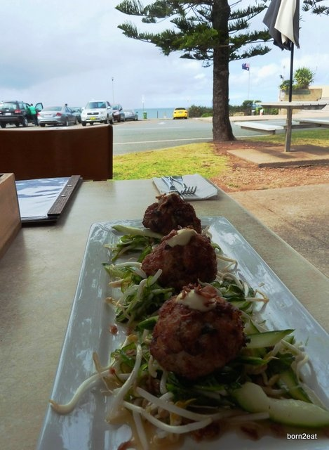Cafe D'Bah - great fusion food with some of the best views on the Gold Coast.