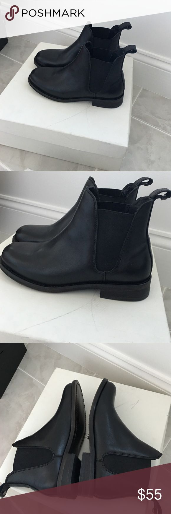 Nordstrom boots. Brand new Treasure and bond boots. Black. Size 6. Genuine leather. Smoke free. No trades Nordstrom Shoes Ankle Boots & Booties