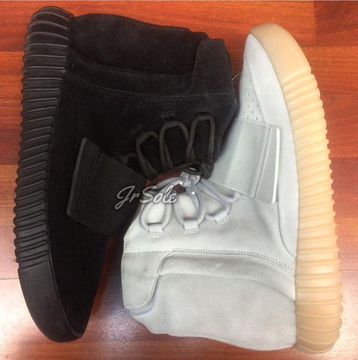 Black adidas Yeezy 750 Boost