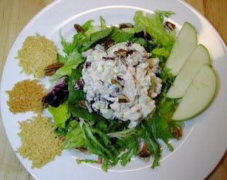 Chicken Salad with Cranberries Apples and Pecans
