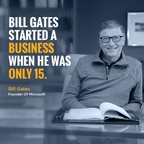 how bill gates started pdf