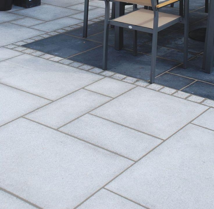 Global Stone Paving-Granite 'Polar'-Silver Grey-PAVING SLABS