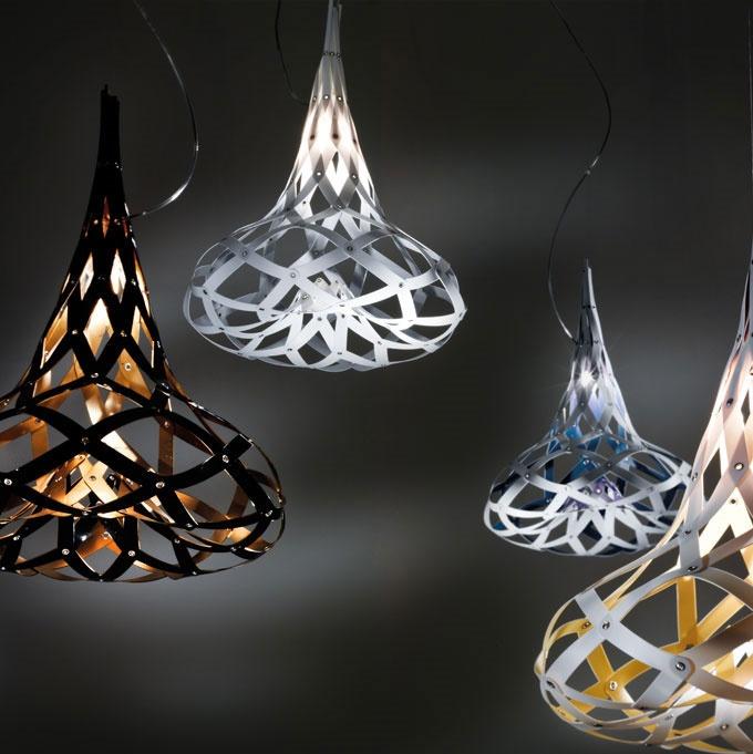 Morgana. Luminarias de la firma italiana SLAMP