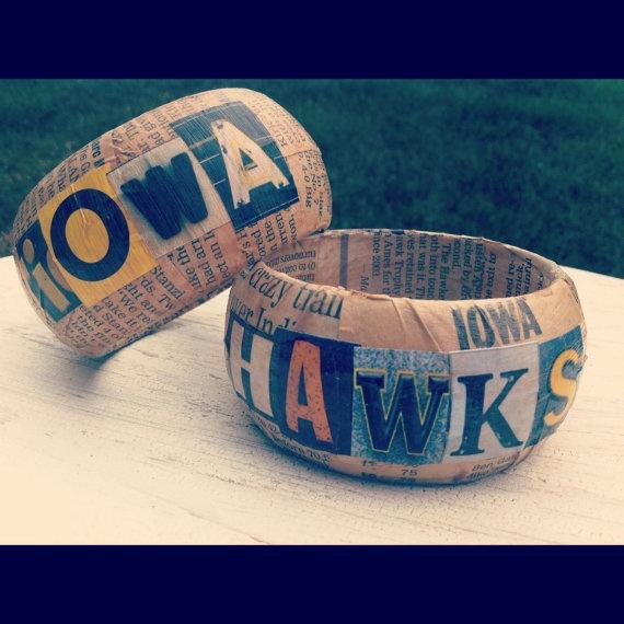Hawkeye bangles - Bridesmaid gifts!