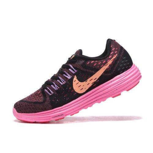 Billig Nike Lunartempo Dam Svart Rosa Löparskor
