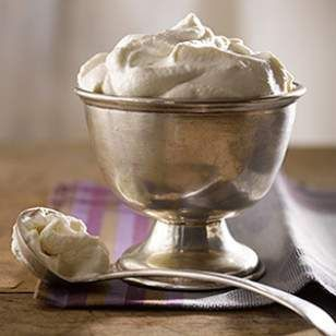 This easy vanilla-bourbon homemade whipped cream recipe makes a sophisticated topping for any pie, crisp or crumble, or dollop in after-dinner coffee for an elegant treat.