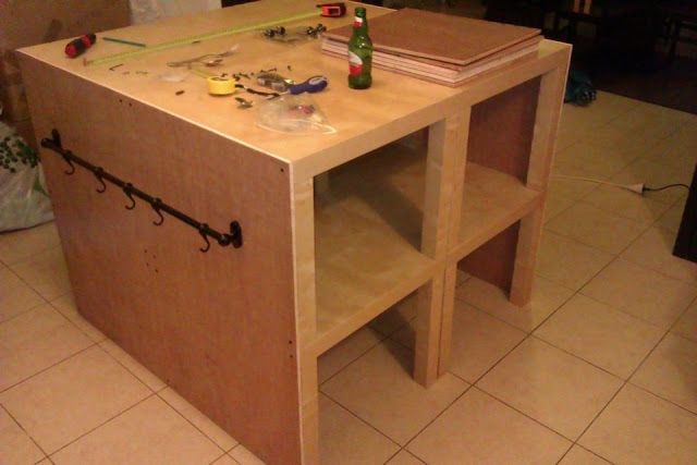 Zen kitchen island | IKEA Hackers Clever ideas and hacks for your IKEA