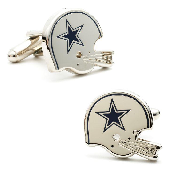 Retro Dallas Cowboys Helmet Cufflinks