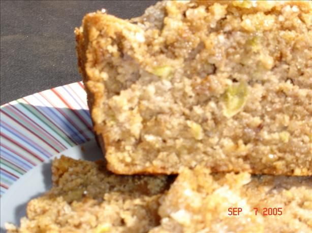 Green Tomato Bread    I know it sounds a little yucky, but it is actually very yummy!   It tastes a lot like an apple cinnamon bread, and is a great recipe for using up green tomatoes from the garden.