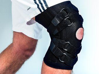 Kniebrace Super geeft terug de stabiliteit aan uw instabiele knie! Veilig bewegen en sporten!