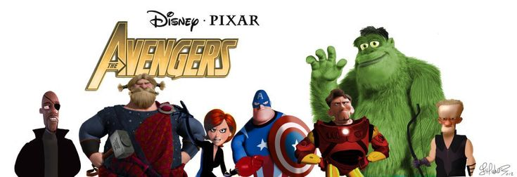 If Pixar did the Avengers: Avengers Assembl, Pixar Avengers, Disneypixar, Disney Pixar, Movie, Super Heroes, Disney Avengers, Superhero, The Avengers