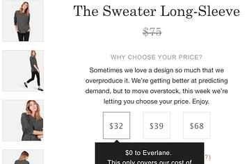 "Everlane's CEO Explains The Logic Of Its ""Choose Your Price"" Sale"