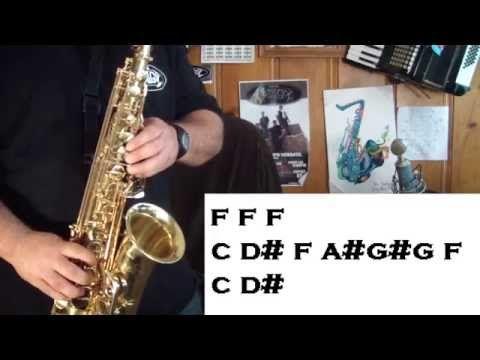 PROBLEM (ARIANA GRANDE) - SAX LICK TUTORIAL - SANTIAGO PACHECO - YouTube