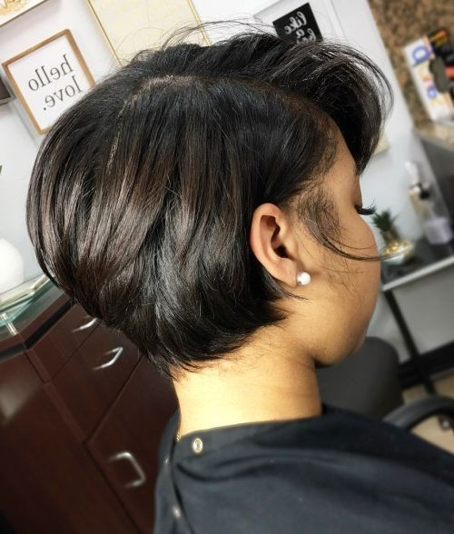 50 Fashionable Short Hairstyles for Black Women #…