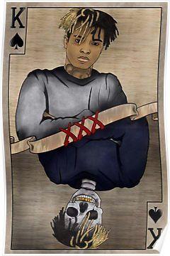 XXXTENTACION CARD Poster