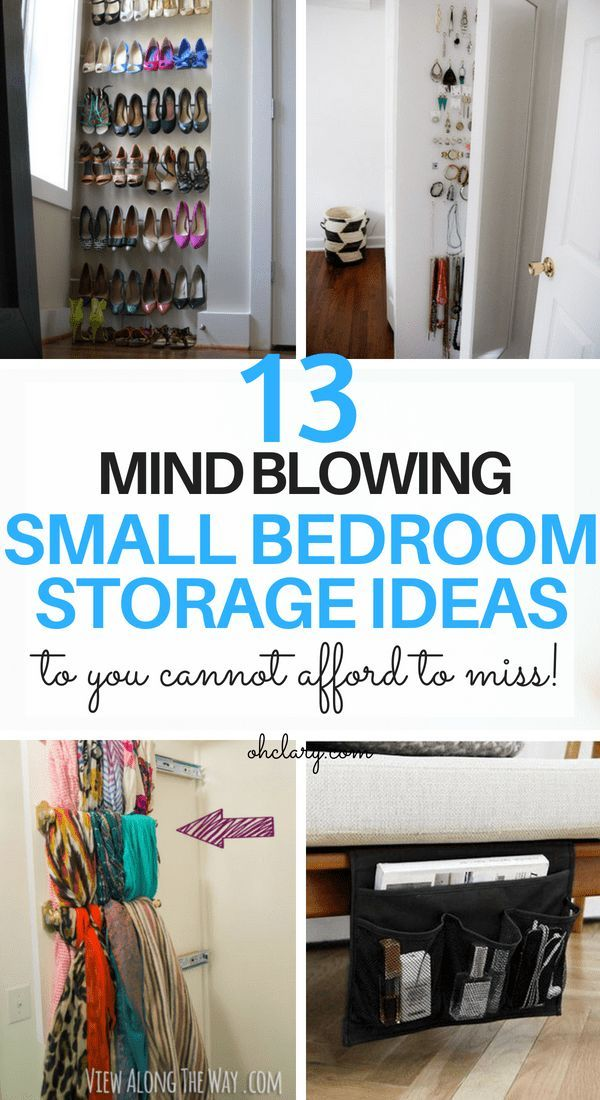 Diy Storage Ideas For Small Bedrooms On A Budget