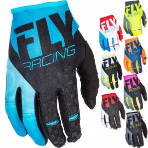 Fly Racing MX Kinetic Youth Dirt Bike Off Road Motocross Gloves