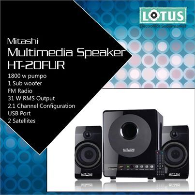It's Gen-Next. You ought to party with something that truly belongs to your Generation. Mitashi's Multimedia Speakers. #MItashi #Speakers