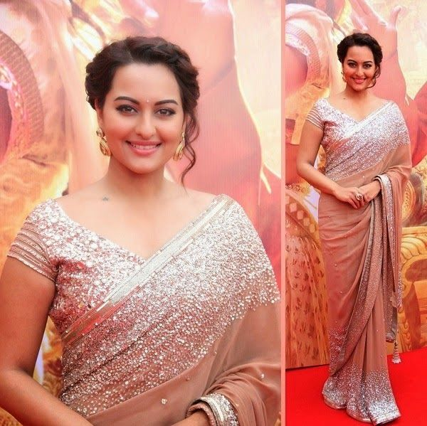 Celebrities in Indian Designers Sari 2014