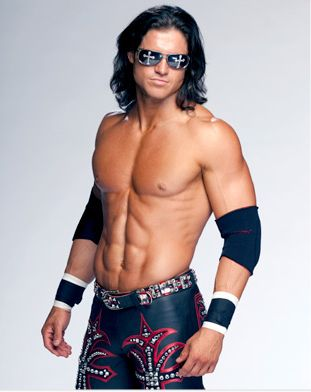 John Morrison! Ya I watched wrestling for the actual wrestling. Same reason guys go to hooters for the wings. ;)