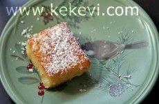Şerbet-i Sütlü (Şerbeti Sütlü Tatlı / Revani / Kakaosuz Islak Kek)   Kekevi.com