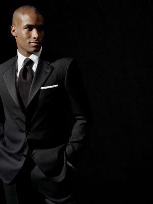 elegant black suits for men | ... getting anywhere, consult a professional designer of men's clothes