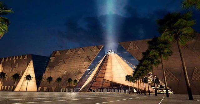 The largest Egyptian museum the largest museum in the world. expected to open later this year in 2018. A museum worthy of our Egyptian civilization displays 100000 archaeological pieces of Pharaonic Greek and Roman civilization. . . Read all about it at ELMENS.com . Link in BIO ABOVE  . . . #travel #traveller #travels #travelgram #wanderlust #instatravel #traveling #travelling #travelphotography #nature #traveler #igtravel #mytravelgram #explore #travelingram #photography #instagood #yolo…