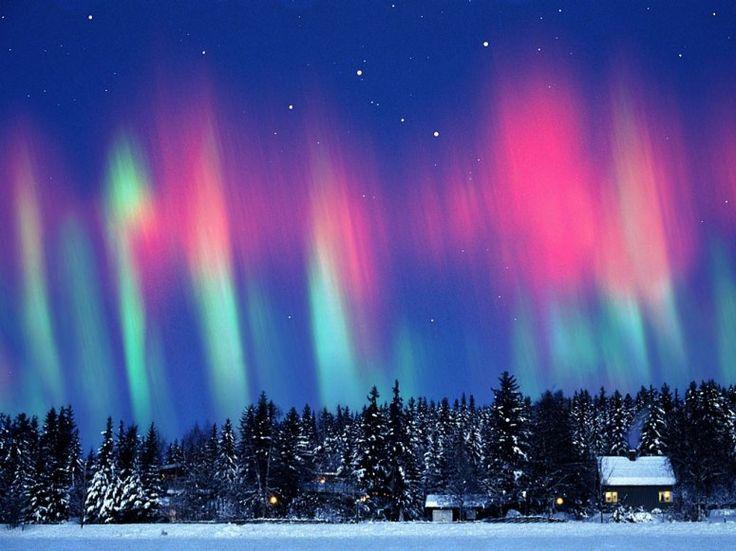 Aurora Borealis  Kautokeino, Lappland, Norway