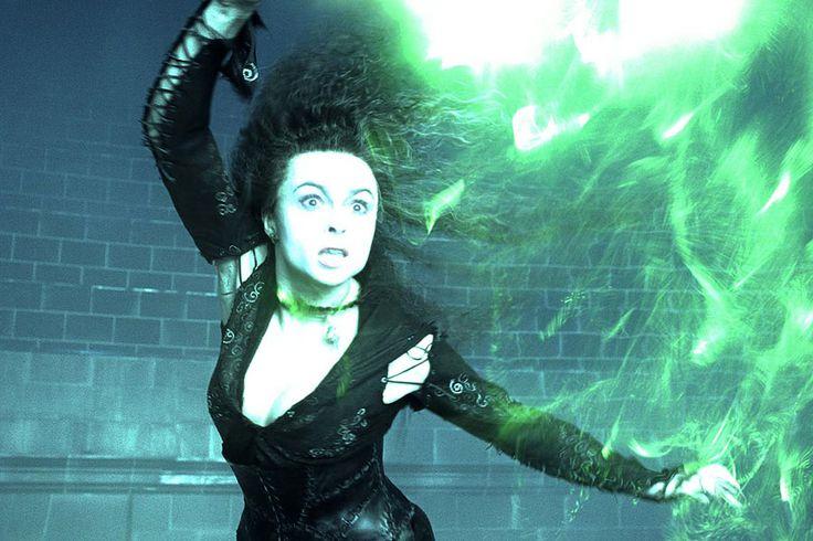 Helena Bonham-Carter as Bellatrix Lestrange in Harry Potter and the Order of the Phoenix 2007