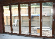 Big wood bifolds from Dunedin manufacturer.  Eurotech Windoors: Timber windows - built to last