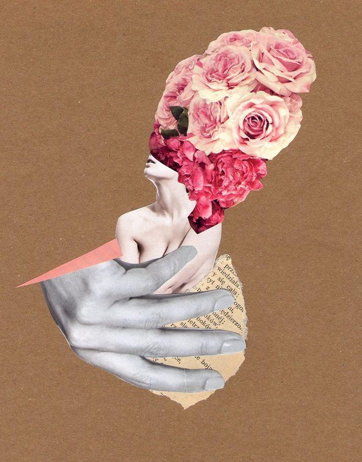 collage kolaż art sztuka