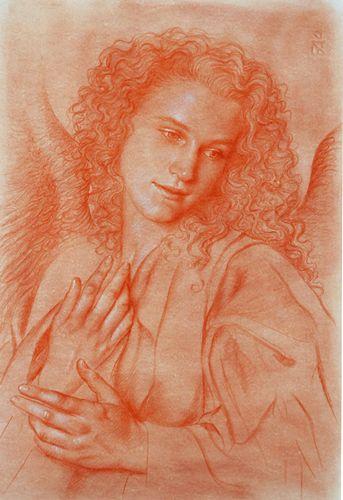 Ulisse Sartini, Estudio para arcángel