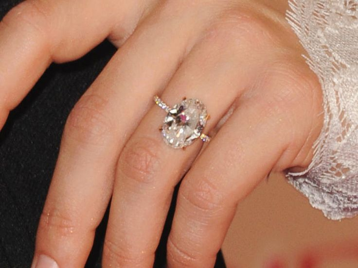 7 of Our Favorite Celebrity Engagement Rings From 2015 | TheKnot.com