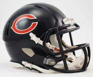 Chicago Bears Speed Mini Helmet