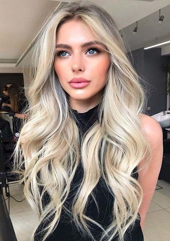 Long Blonde Hairstyles For Women Lilostyle In 2020 Gorgeous Hair Color Blonde Hair Looks Hair Styles