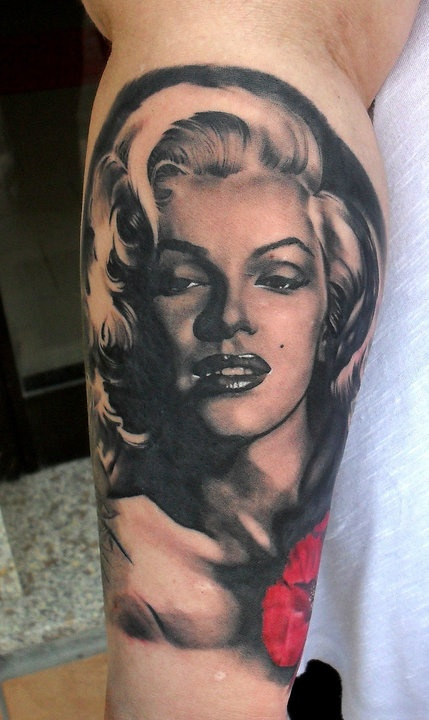 37 best images about tattoo classic movies on pinterest for Marilyn monroe tattoo canvas